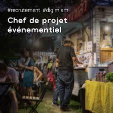 recrutement chef de cuisine offre d emploi chef de projet événementiel culinaire digimiam