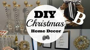 Xmas Home Decorating Ideas by Diy Christmas Home Decor Youtube