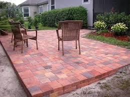 Paver Patio Design Lightandwiregallery Com by Gorgeous Simple Outdoor Patio Ideas Outdoor Paver Designs Simple
