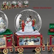 kinkade snow globe collectibles