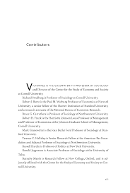 Resume For Finance Job by On Capitalism Edited By Victor Nee And Richard Swedberg