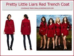 Pretty Liars Costumes Halloween 31 Red Coat Images Red Coats Sasha Pieterse