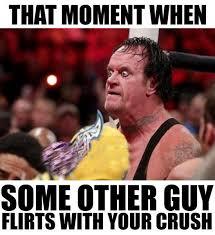 Undertaker Meme - wwe meme wwe funny undertaker and dean ambrose