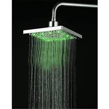 Bathroom Shower Price Shower Led Light Top Shower Faucet Square Temperature 3