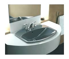 kohler bryant bathroom sink kohler drop in bathroom sink drop in cast iron bathroom sink kohler