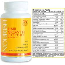amazon com vitamins for hair growth best alopecia treatment to