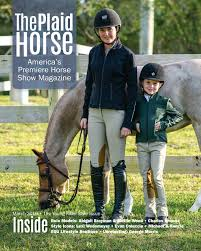Young Doctors Buck The Trend The Plaid Horse March 2016 The Young Rider Style Issue By The