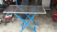 diy portable welding table good idea for a welding table workshop pinterest welding table