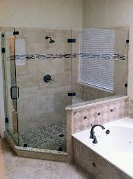 Angled Glass Shower Doors Neo Angle Shower Enclosures Shower Doors Of Dallas