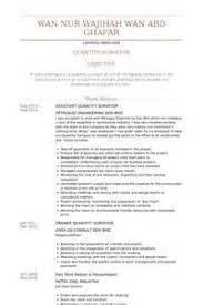 cover letter quantity surveyor job