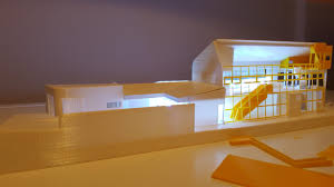 designing a house 3d print a 1 100 scale concept model for a house