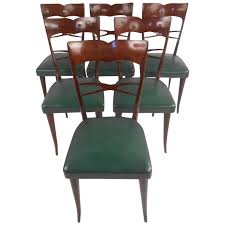 Mid Century Dining Room Chairs by Set Of Guglielmo Ulrich Style Mid Century Modern Italian Dining