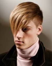 comb over hairstyle for fashion conscious men clipped sides and back
