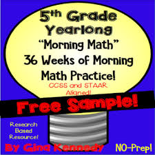 5th grade math problem solving 5th grade morning math daily math problem solving review free