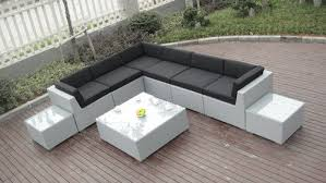 Outdoor Rattan Corner Sofa Patio Outdoor Rattan Sofa Uv Resistant Contemporary Corner Sofa