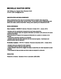 high student resume templates australian newsreader how to become a tv reporter or news anchor with pictures