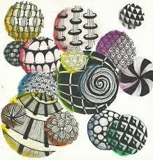 zentangle circles youtube