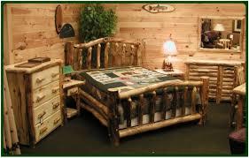 King Bedroom Set Plans Rustic Log Bedroom Set Imag0172 Cedar Furniture Sets Mountain