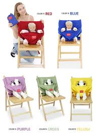 mom u0027s free baby portable booster seat for high chair fabric strap
