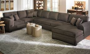 Grey Chaise Sectional Sofas Wayfair Couches Grey Leather Sectional Oversized Sofas
