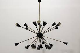 sputnik chandelier an iconic design for more than 50 years mid century italian black sputnik chandelier by stilnovo 1950s for