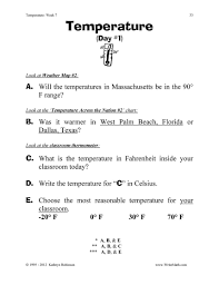 thermometer worksheets 2nd grade worksheets