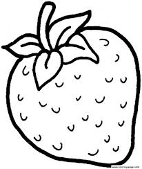 cartoon fruits coloring page for kids fruits pages in coloring