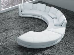 White Curved Sofa by Classic Curved Three Seat Brown Leather Sectional Sofa With Brown