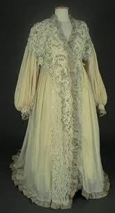 robe de chambre en anglais le costume féminin de 1900 à 1914