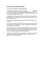 sle letter appeal letter sle for parking offence 28 images search results