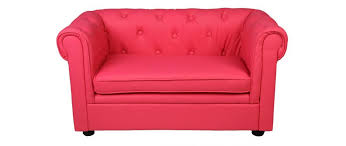 canap enfant 2 places canapé enfant 2 places framboise baby chesterfield miliboo