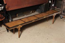 long skinny coffee table long bench shaped rustic wood skinny coffee table design to complete