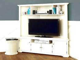 distressed corner tv cabinet rustic white tv cabinet white rustic stand media unit on wheels from