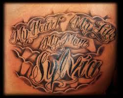 creative tattoos script tattoo fonts