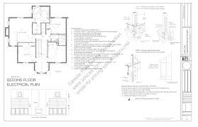 wall blueprints country house plan sds plans