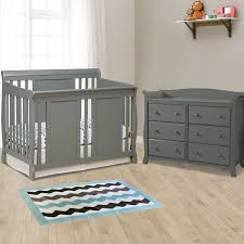 Storkcraft Princess 4 In 1 Fixed Side Convertible Crib White by Storkcraft 2 Piece Nursery Set Verona Convertible Crib And