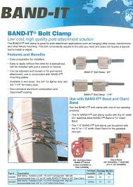 band it bolt clamp band it applications product guide