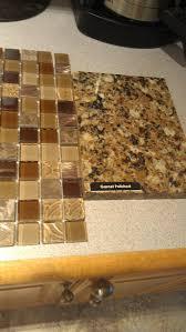 peel and stick glass tile kitchen backsplash ideas for dark