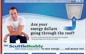 scuttlebuddy attic access insulation and air sealing solution