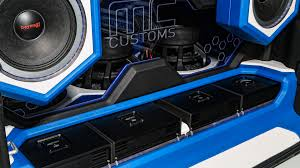 white and blue jeep mc customs aces high jeeps
