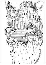 landscape by valentin 3 myths u0026 legends coloring pages for