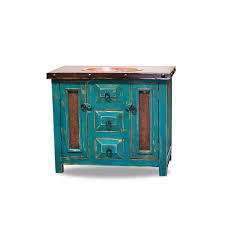 Rustic Bathroom Vanities And Sinks by Order Custom Bathroom Vanities U2013 Turquoise