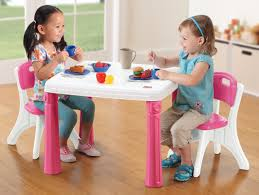 Toddler Table And Chair Sets Step2 Lifestyle Kitchen Kids Table And Chair Set U0026 Reviews Wayfair