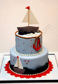618 best nautical cakes images on pinterest nautical cake