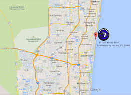 Fort Lauderdale On Map Contact Us Deep Blue Divers Lauderdale By The Sea