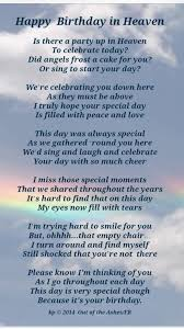 I Love My Son Poems And Quotes by Happy Birthday Mike Sending Birthday Wishes To U In Heaven U Are