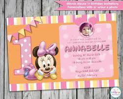 20 minnie mouse invitation templates u2013 free sample example