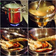 steamed king crab legs with garlic lemon butter u2013 the how to duo