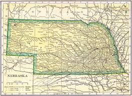 Nebraska State Map by Nebraska Genealogy U2013 Access Genealogy