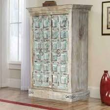 Armoire Solid Wood Rustic Armoire And Wardrobe Furniture